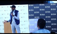 Sibusiso Ngwenya speaking at #JoinUsForTEA